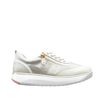 Laura Beige/White